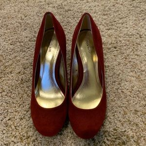 Style & Co. Red Heels